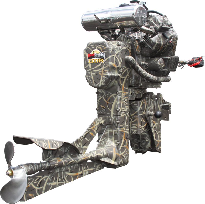 4400 black death mudbuddy for Best mud motor prop